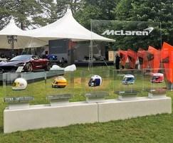 Bailey Streetscene: Bailey Streetscene's entrance sculpture for McLaren