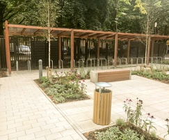 Street furniture for Westminster House, Manchester