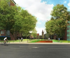 Bailey Streetscene: Phase 2 of Manchester University Green Space project