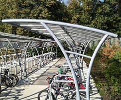 Oxford cycle shelters