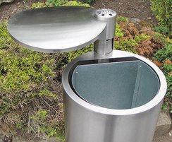 Bradford range - stainless steel litter bin