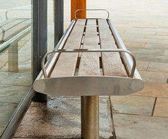 Bradford range - timber & stainless steel bench