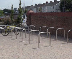 County Range - stainless steel cycle stands