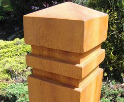 Springwell Range - timber bollards