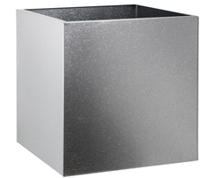 Steel Cube Planter