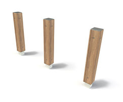 Alfriston range - timber bollards