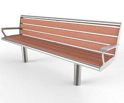 Bradford range - timber & steel seat
