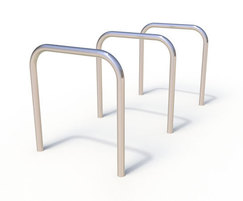 Bradford range - stainless steel cycle stand