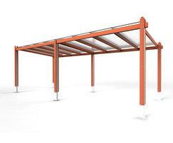 Springwell Range - timber canopy shelter