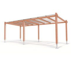 Provincial Range - timber canopy shelter