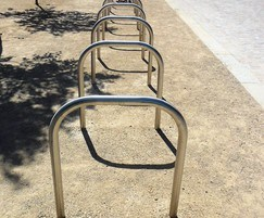 Provincial Range - stainless steel cycle stands