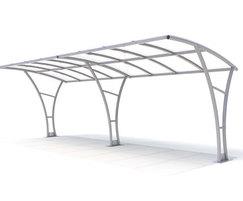 Regent Range - steel canopy shelter