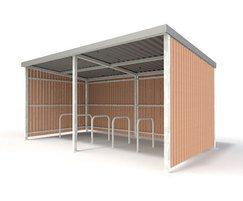 Sentinel Range - timber shelter