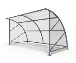 Sentinel Range - steel shelter