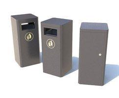 Sentinel Range - steel litter bins