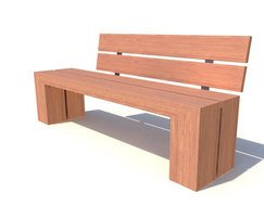 Sentinel Range - timber seat