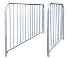 Guardrails provide pedestrian safety