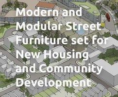 Bailey Streetscene: Modular seating for new housing development in St Neots