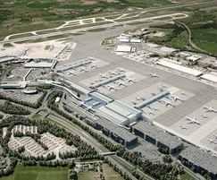 Bailey Streetscene: Recent Expansion of Terminal 2 at Manchester Airport