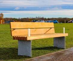 Greengate seating for Delamere Visitors' Centre