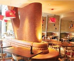Clayworks: Clay plaster used in Nando's throughout UK