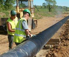 Rockshield pipeline coating protection