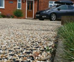 BodPave 85 paver has large ground spikes for stability