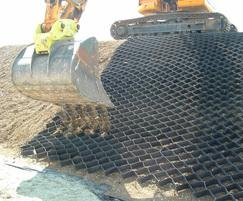 Geocell for soil stabilisation and erosion control