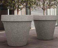 Mago Granpot large concrete planter