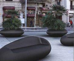 Mago Stone concrete planter / seat