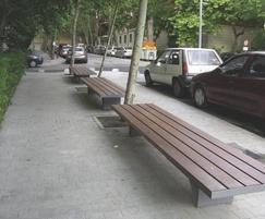 DAE Street Furniture - Ban Seat