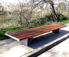 BAN bench without backrest