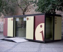 Information office - walk-in style