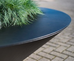 Conical Planter - Corten with a RAL coating