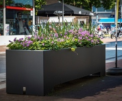 POC - Low planter - Corten/RAL Coated