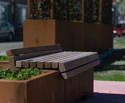 POC - Low Seat - corten steel / RAL coated
