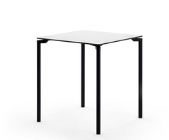 LEG table with square top and four-leg base