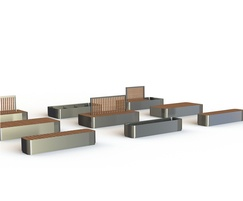 ARLO Eight - modular planting and seating system