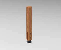 POC - Sturdy bollards are also available