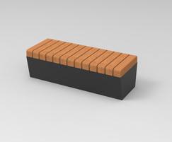 POC - Sturdy bench without backrest