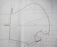 Technical plans created by our technician for a planter