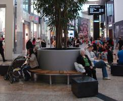 Tree 3 Planter (surrounded by seats)