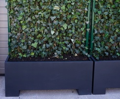 Bespoke screening planter designed to fit in a forklift