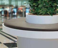 Terraces modular seating, planting and table system