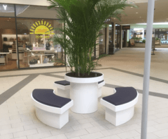 Terraces modular seating, table and planting system