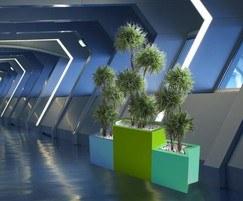Geo Hexagon planter 3