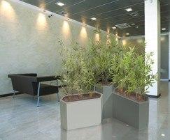 Geo Hexagon planter GRP