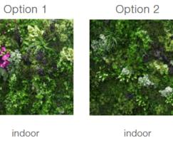 Standard GreenWall mix options