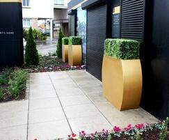 Instant replica buxus planters