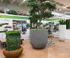 Livingreen Design: New planter range for streets, roof gardens and atria